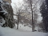 Zimní Valdštejn
