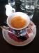Kafe muzejní kavárny (se stylovým cukrem)