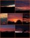 Koláž letních obloh